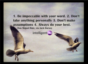 Dont take anything personally - Don Miguel Ruiz