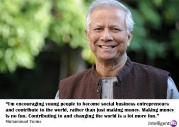 Muhammad Yunus quote