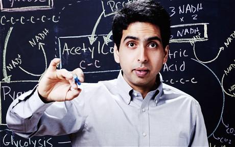 Salman Khan founder portrait Khan Academy