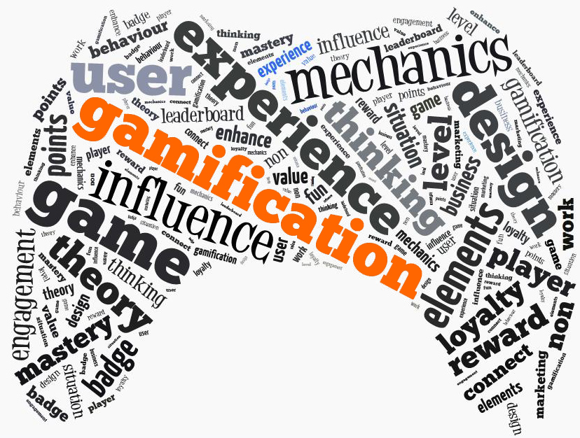 Gamification/Big Data Word Cloud