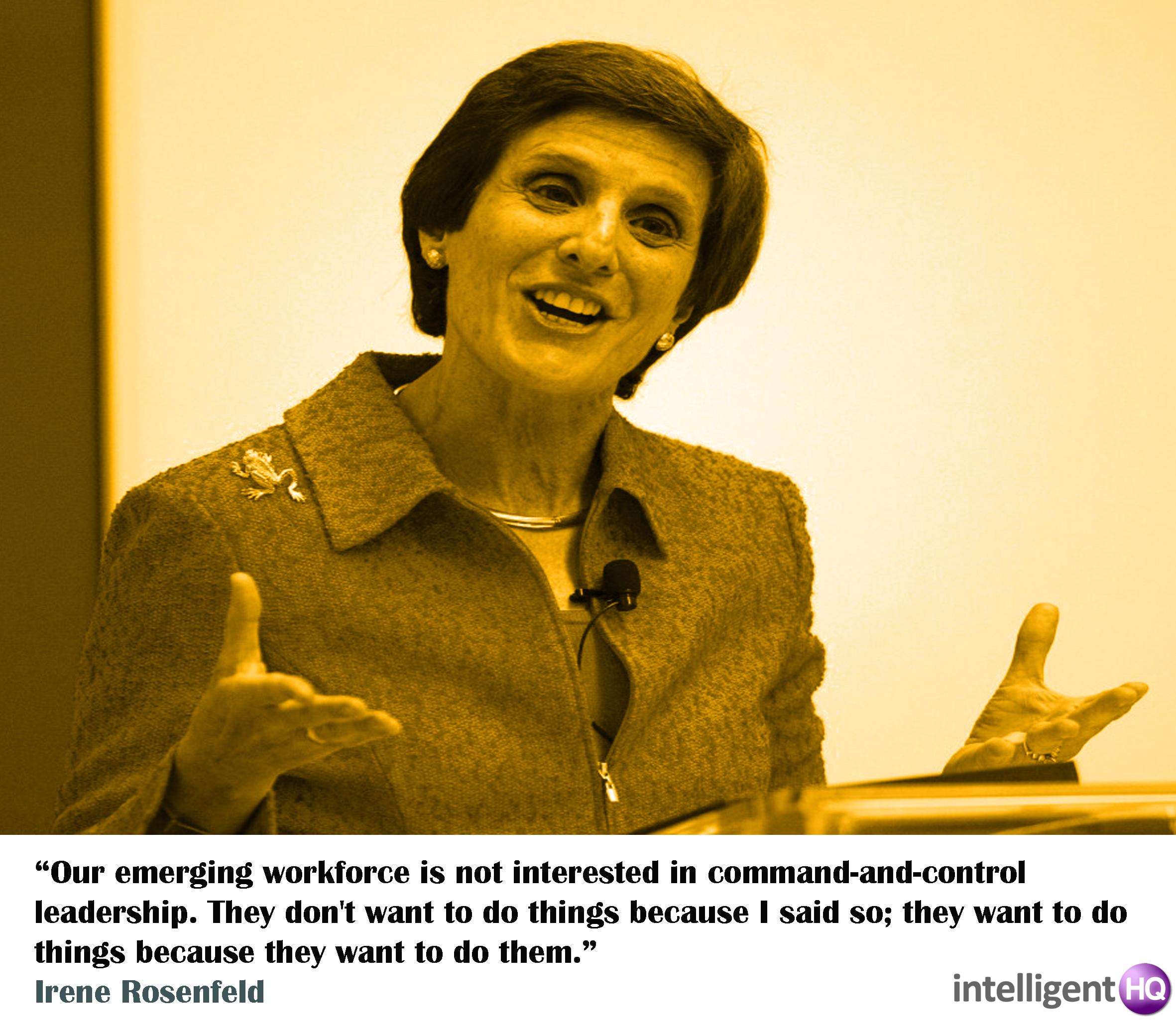 Quote By Irene Rosenfeld. Intelligenthq