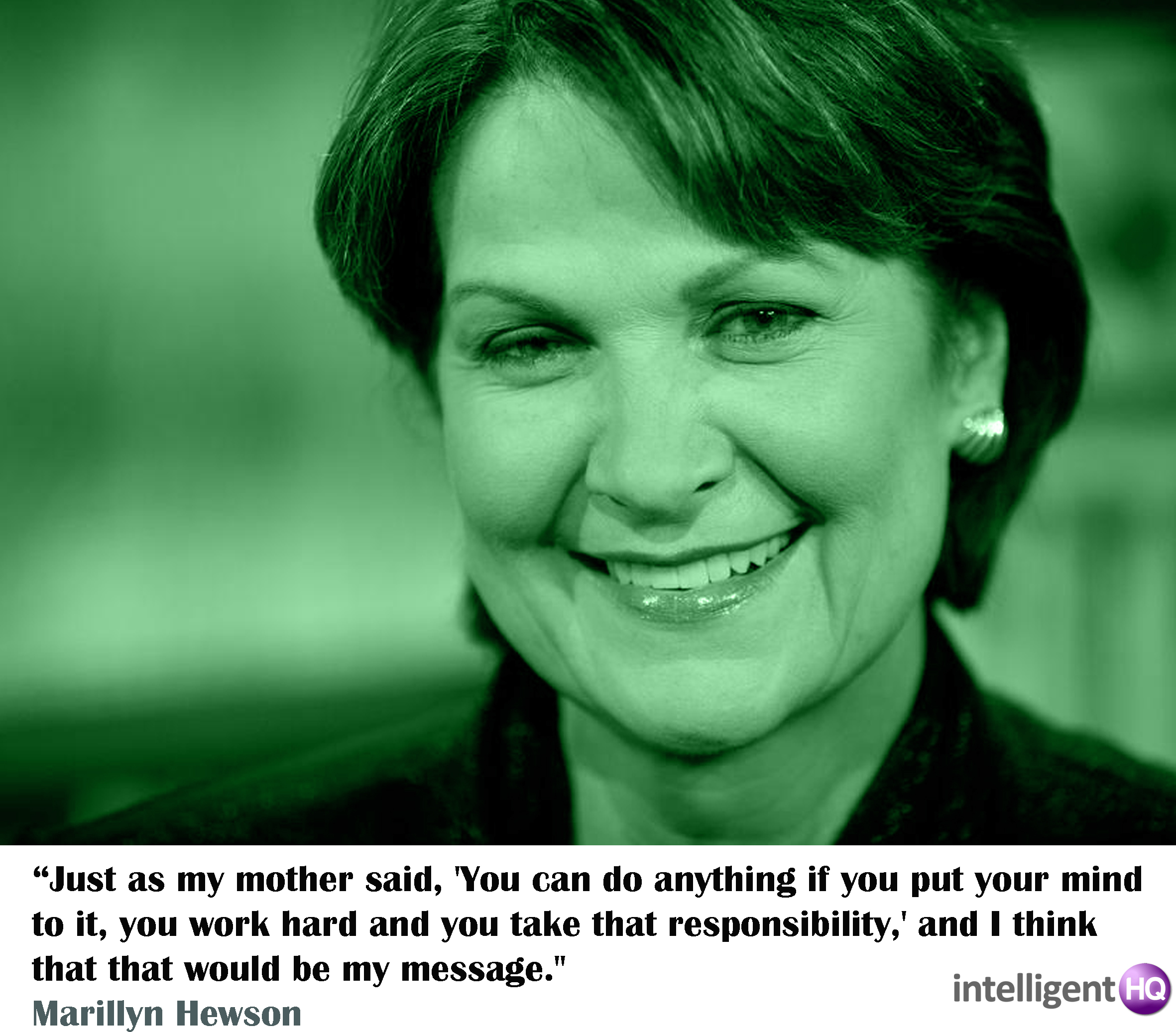 Quote By Marylin Hewson. Intelligenthq