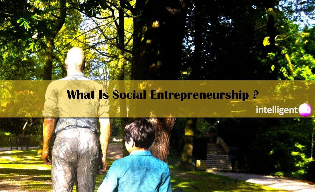 What Is Social Entrepreneurship. Intelligenthq