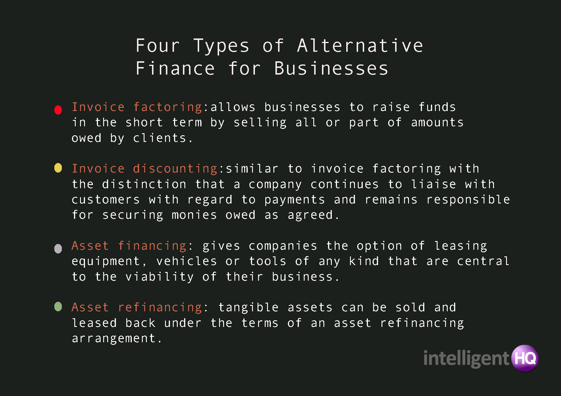 Four Types of Alternative Finance for Businesses
