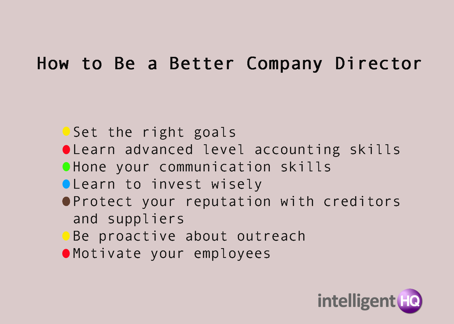 How to Be a Better Company Director Intelligenthq