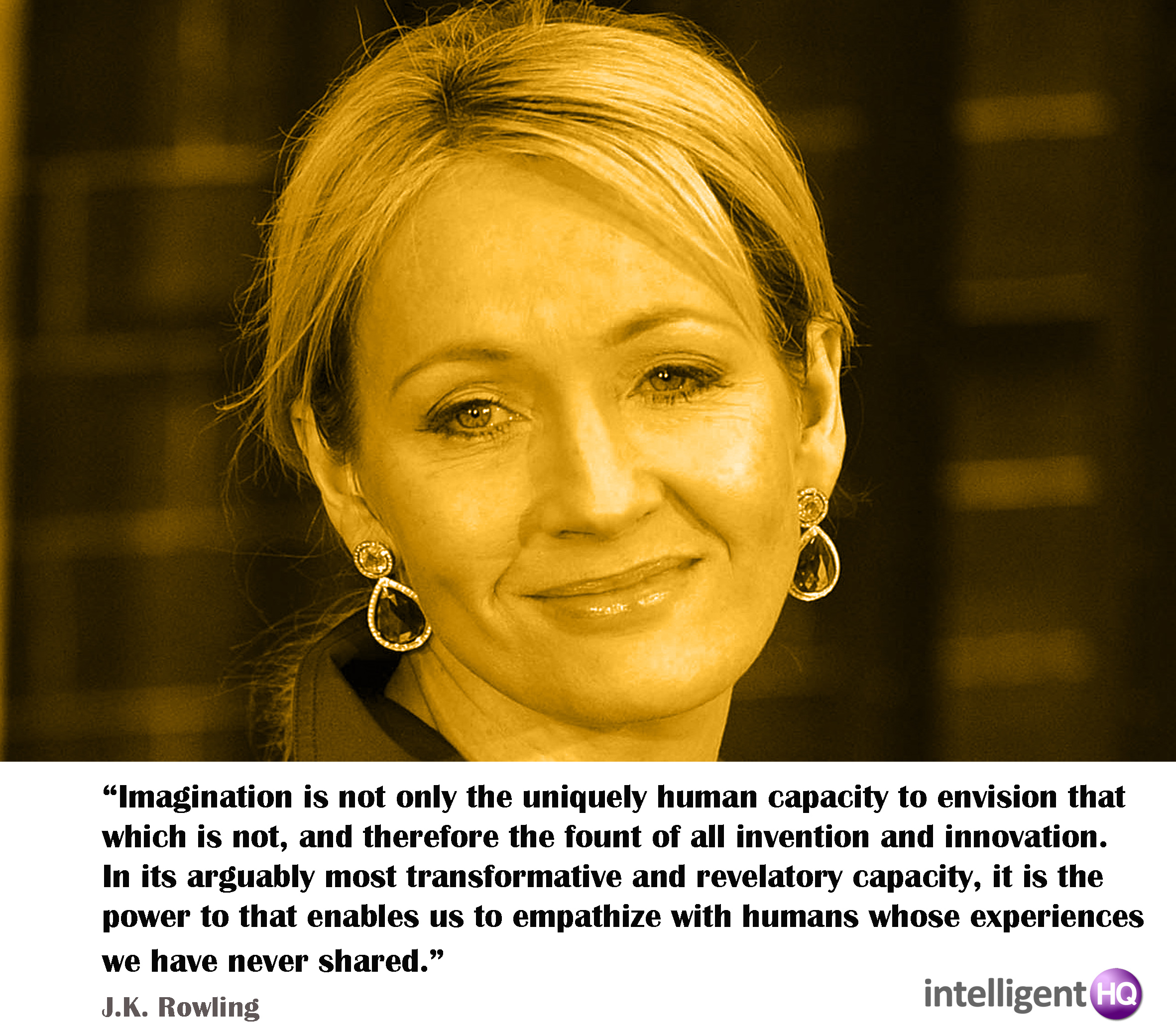 Quote by J.K. Rowling Intelligenthq