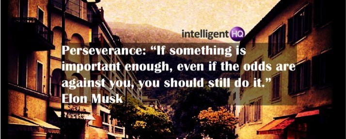 Perseverance Elon Musk Quote IntelligentHQ