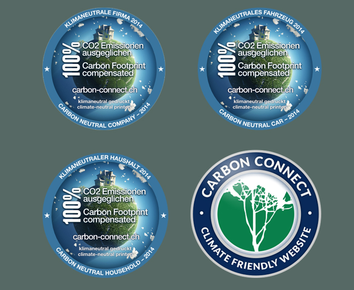 Labels offered by Carbon-connect AG