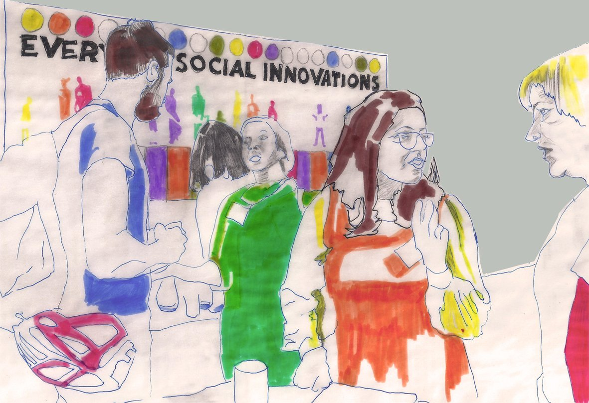 Is The Sharing Economy Here To Stay ? Illustration by Maria Fonseca to Intelligenthq