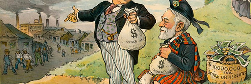 Puck magazine cartoon from 1901