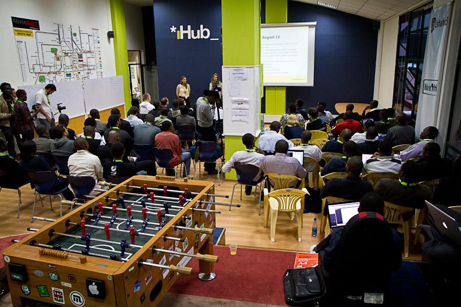 The IHub in Nairobi
