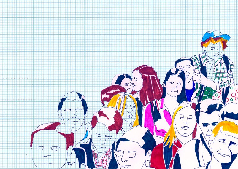 How the crowd is transforming business Illustration by Maria Fonseca for Intelligenthq