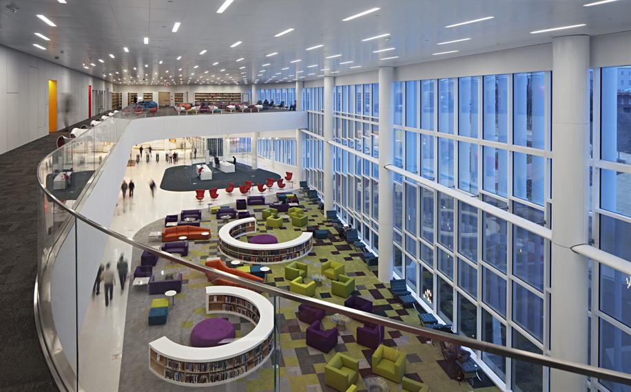 Hunt Library, NCSU