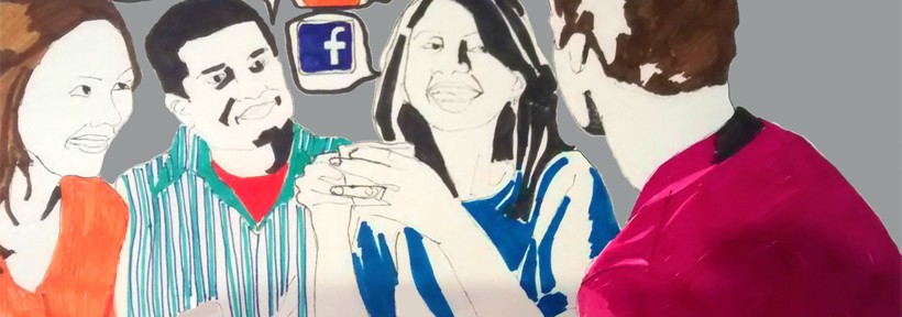 Is Your Business Ready For The Social Age ? Illustration by Maria Fonseca