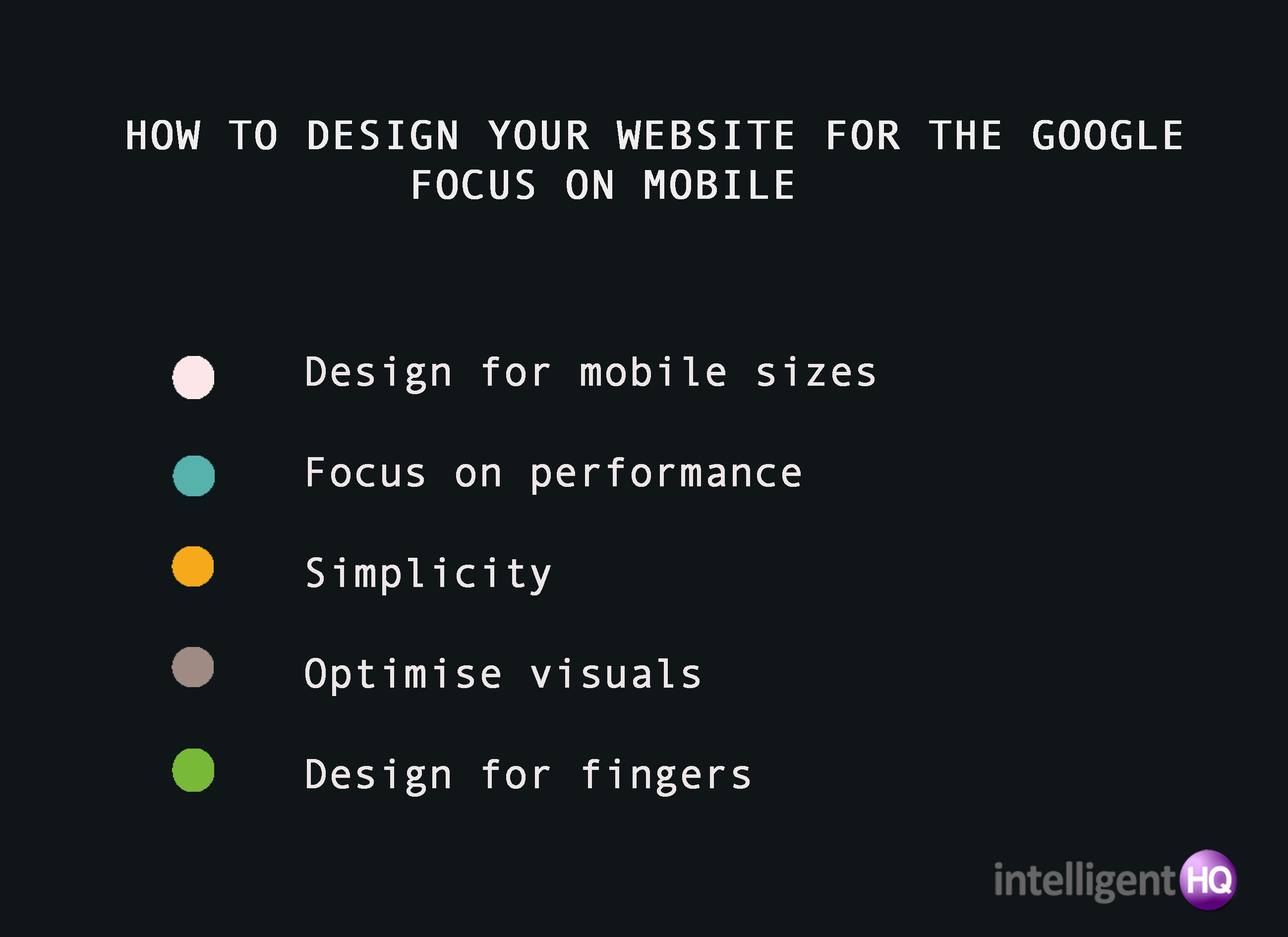 Designing Your Website For The Google Focus on Mobile