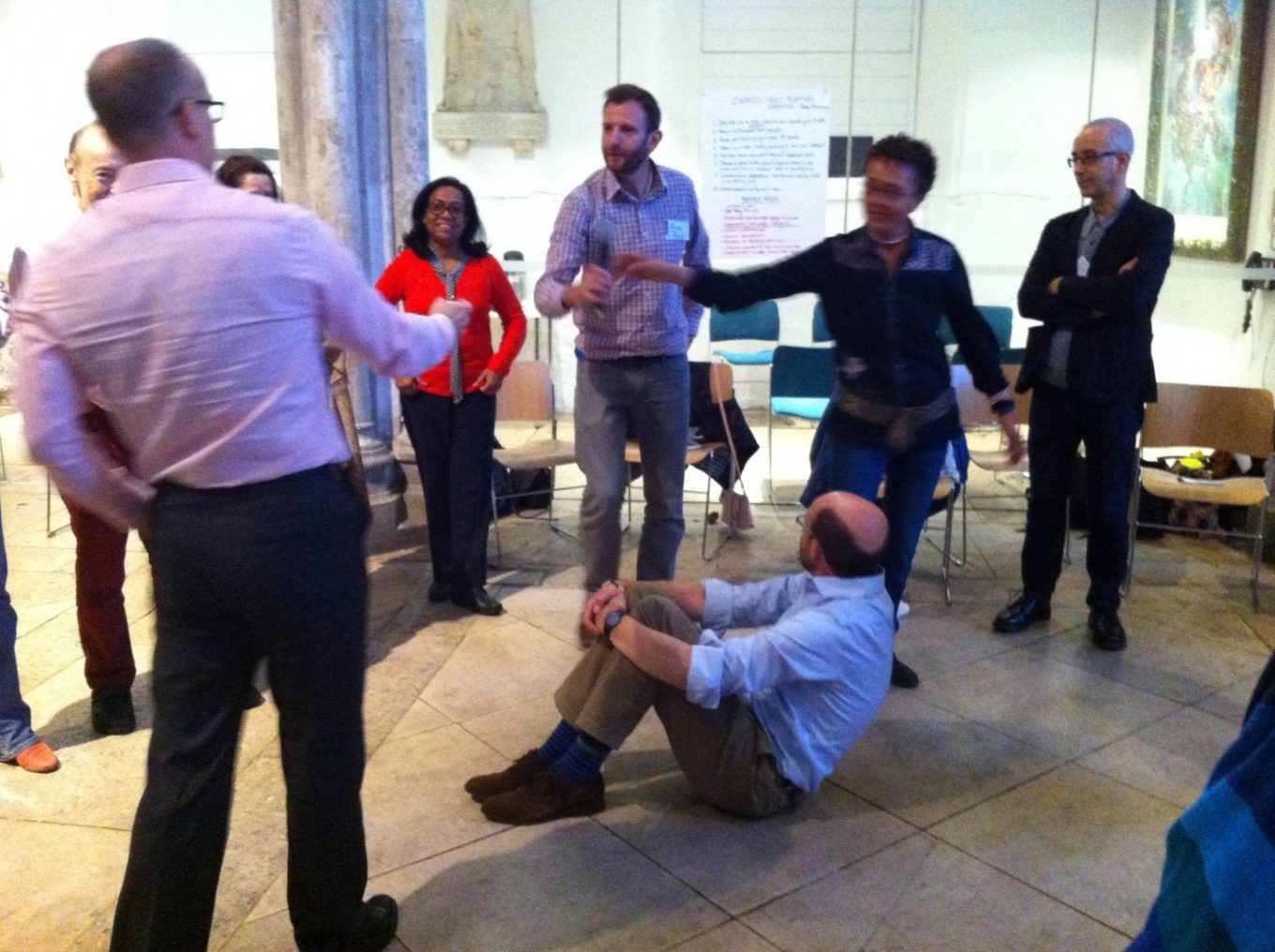 Role playing in the Teal Community of Practice