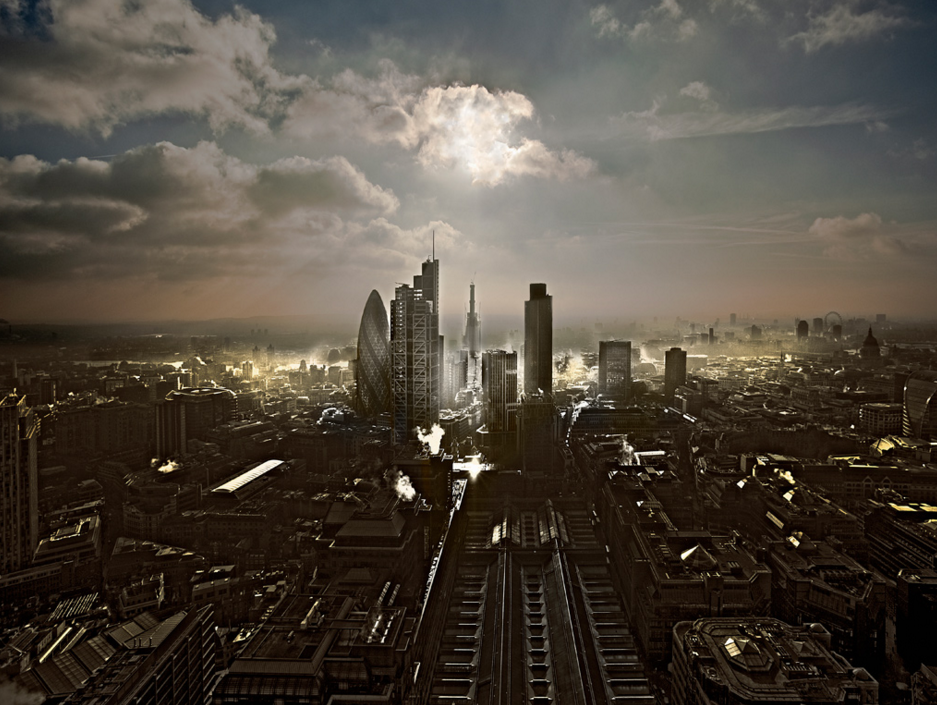 London Landscape, photo by Howard Kingsnorth