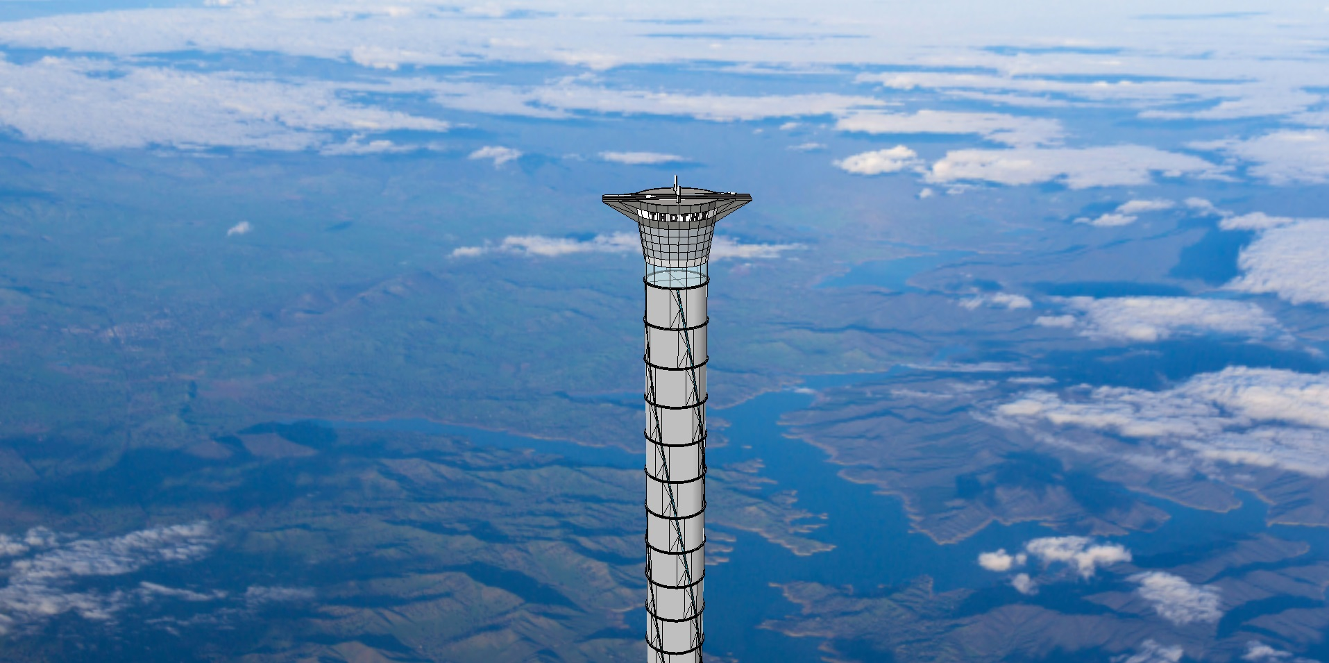 Space elevator. Image source: Thoth Technology