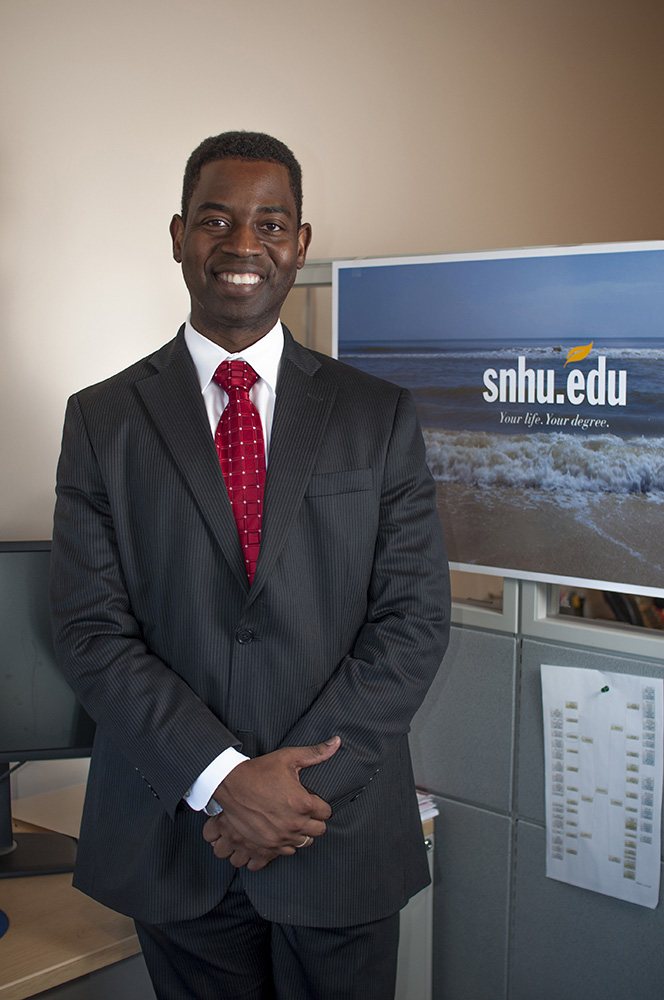 Dr. Gregory Fowler, Chief Academic Officer for the College of Online and Continuing Education at Southern New Hampshire University (2016)