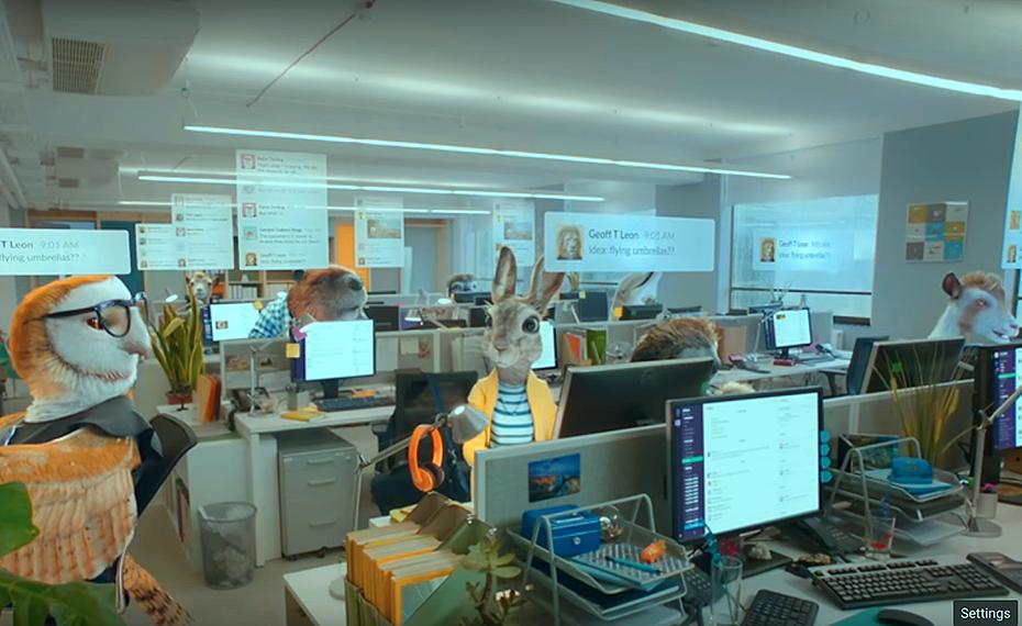 Slack, a cloud-based team collaboration tool