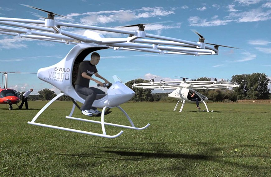 Volocopter is Flying Manned! Will We Witness The Dawn of a Revolution in Urban Mobility?