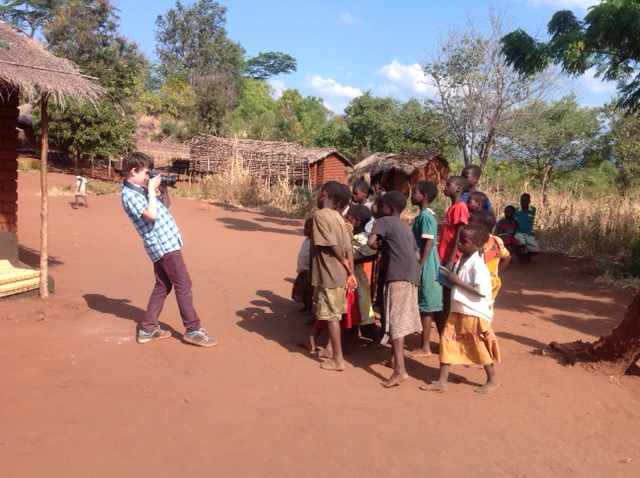 Ayrton Cable reporting from Malawi with ITV News