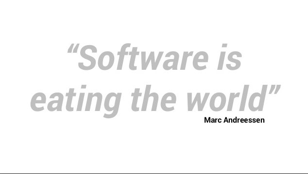 Software is still eating the world, Marc Andreessen is a cofounder and general partner of the venture capital firm Andreessen Horowitz