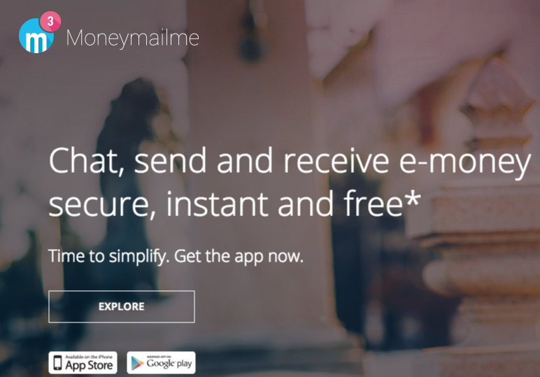 Moneymailme Chat, send and receive e-money secure, instant and free