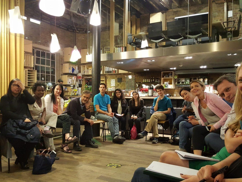 ULab members at Impact Hub Kings Cross