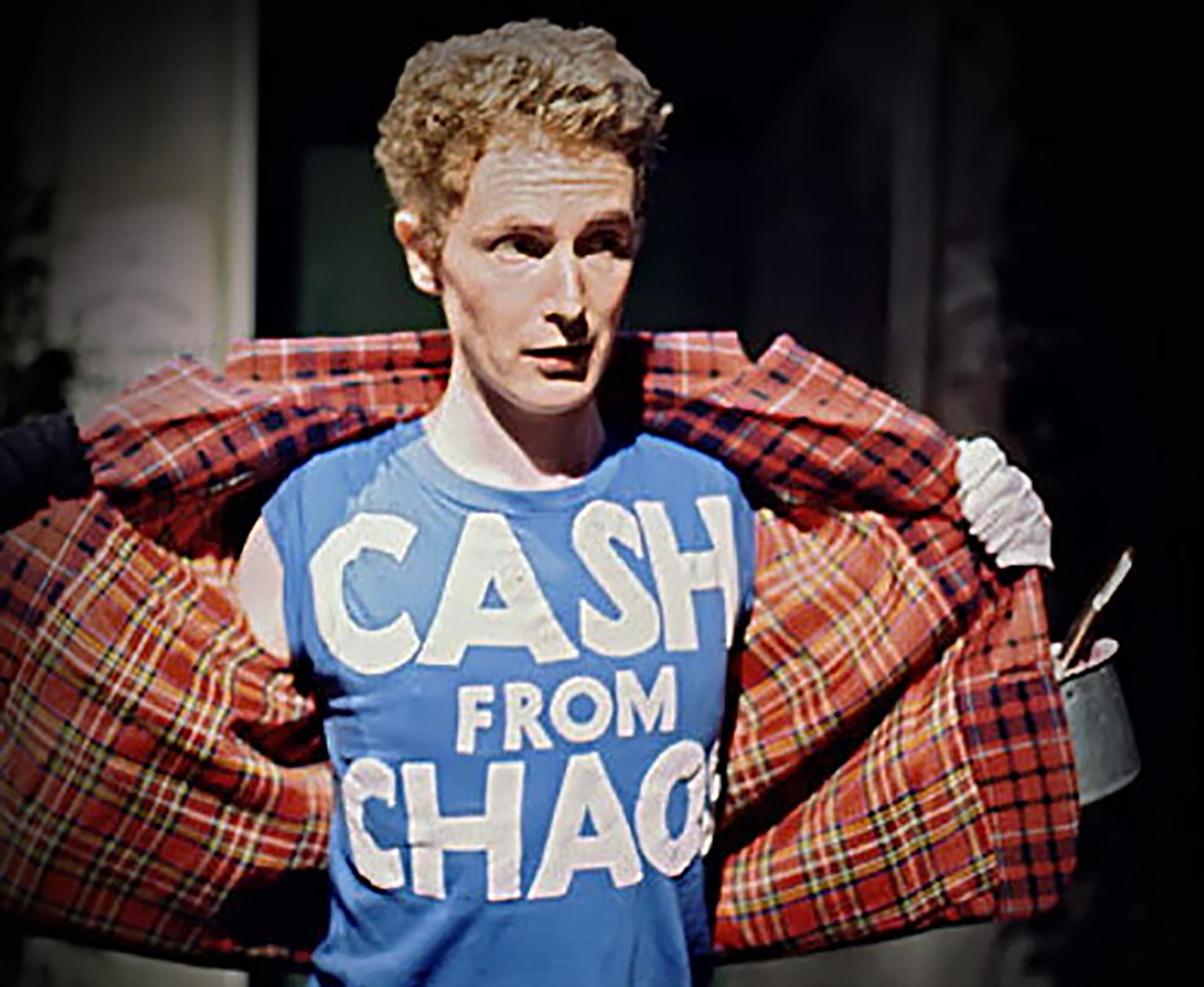 Cash from Chaos, Mclaren tribute shirt