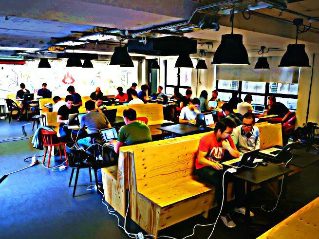 startup scene in London