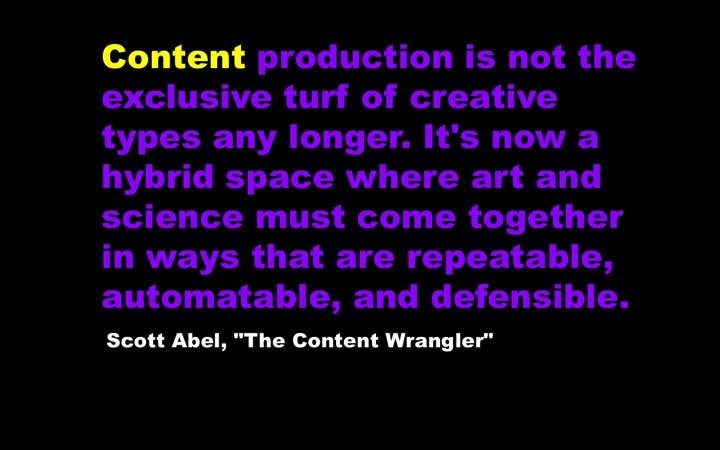 Content Production Abel Scott Interview with IntelligentHQ