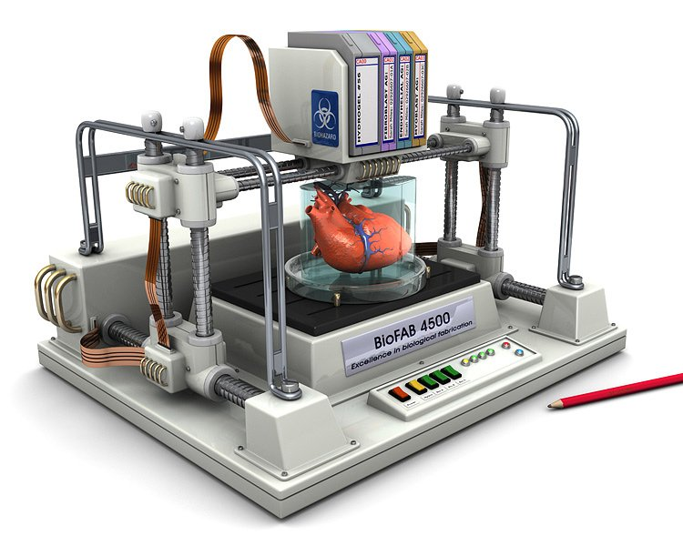 3D printing technology. Image source : Futuretimeline.net
