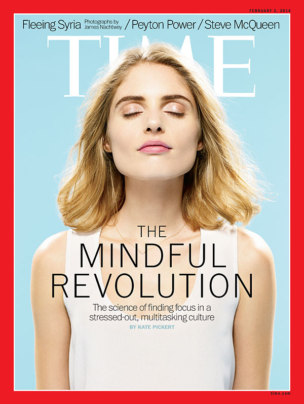 The Mindful Revolution. Cover Of Time Magazine