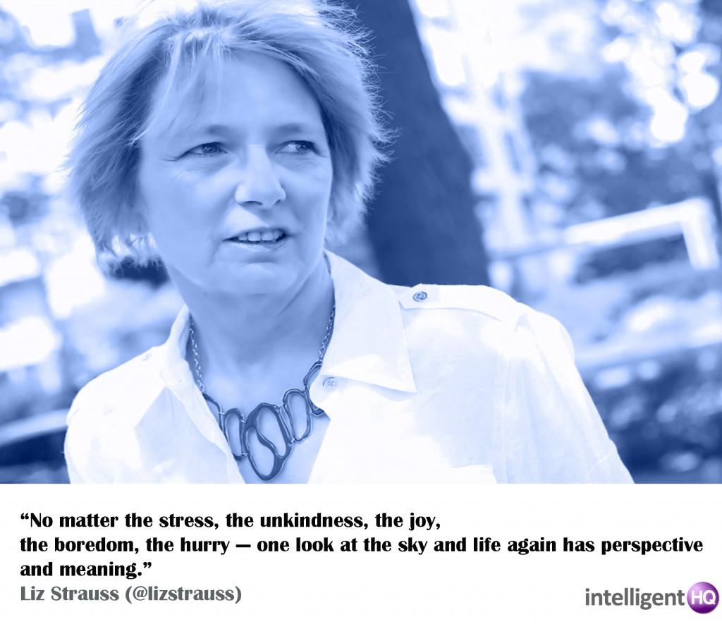Quote By Liz Strauss. Intelligenthq