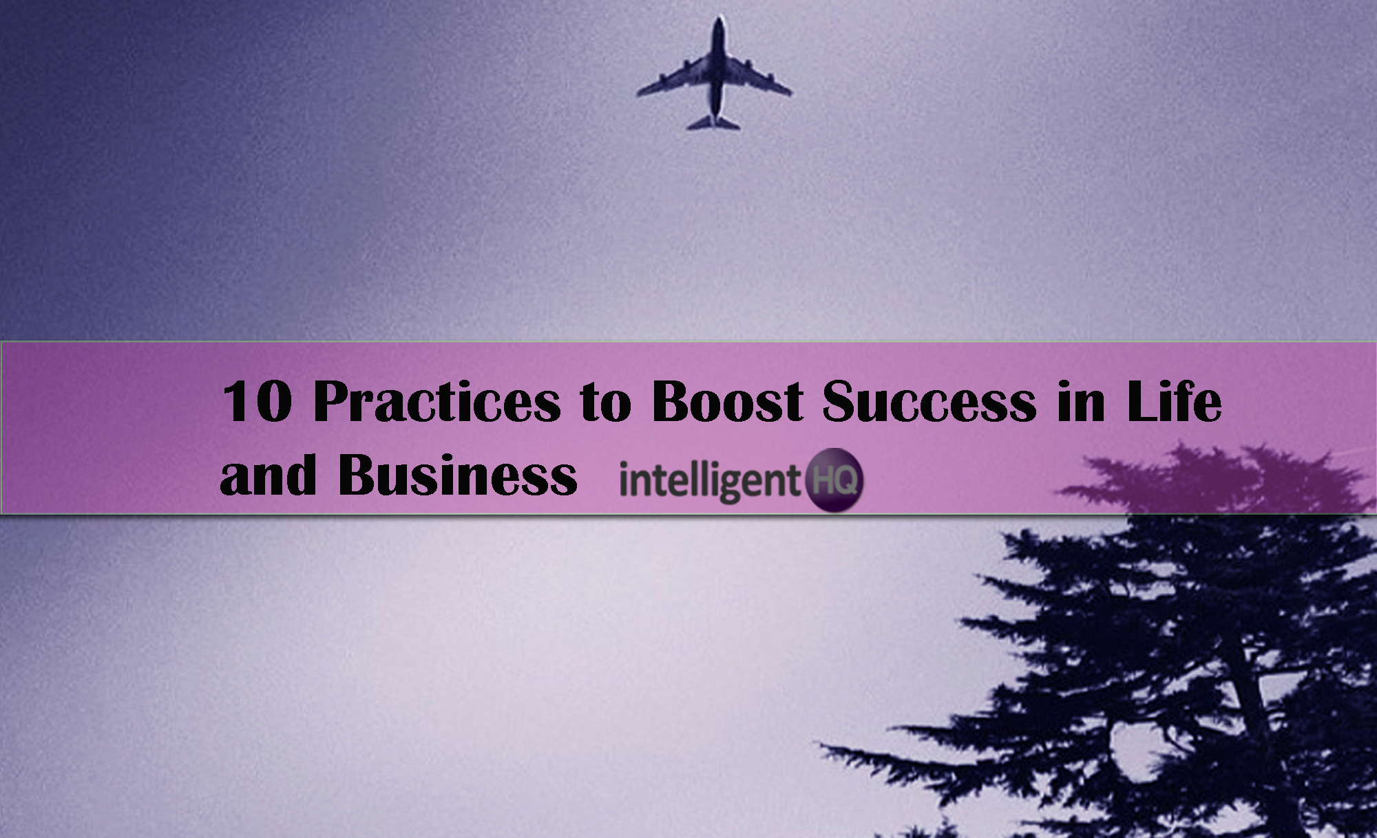 practices to boost success in life and business