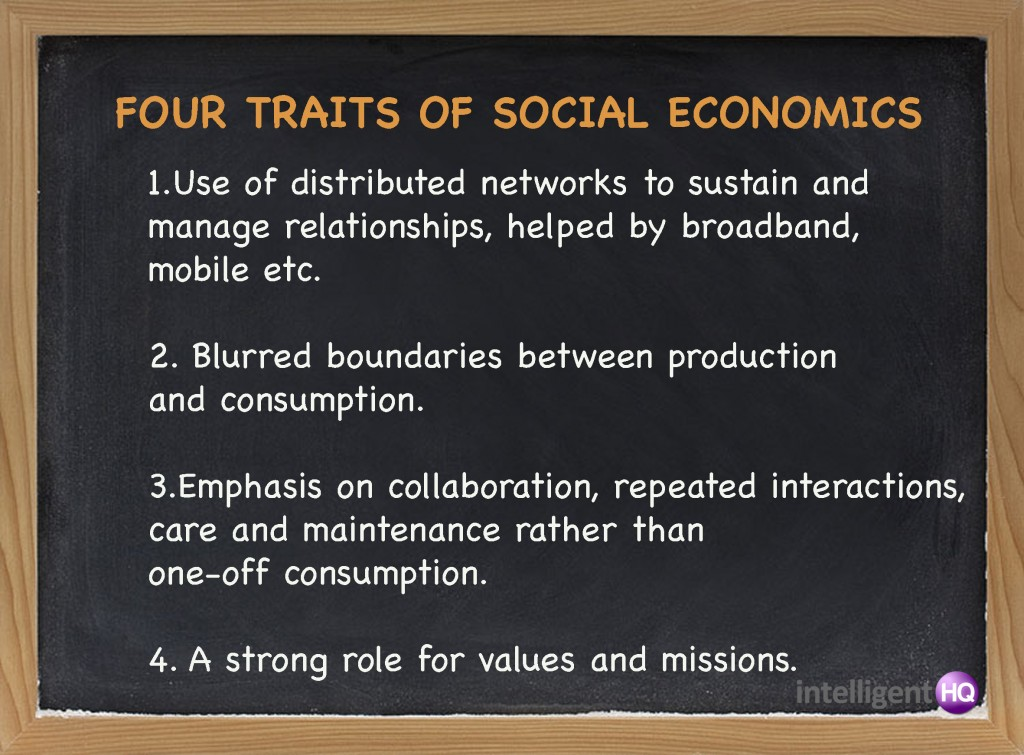 Four traits of Social Economics. Intelligenthq