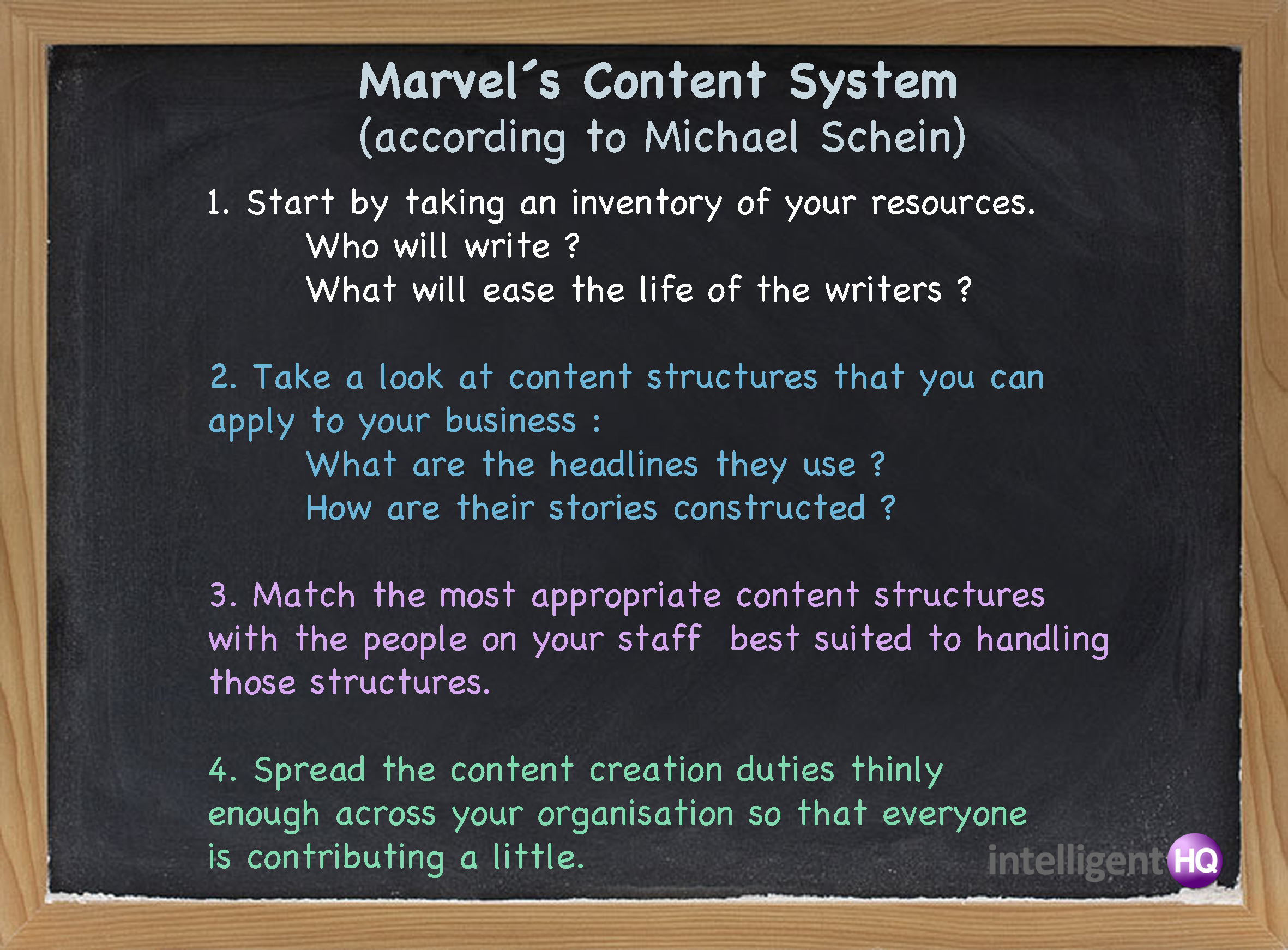 Marvel´s content system
