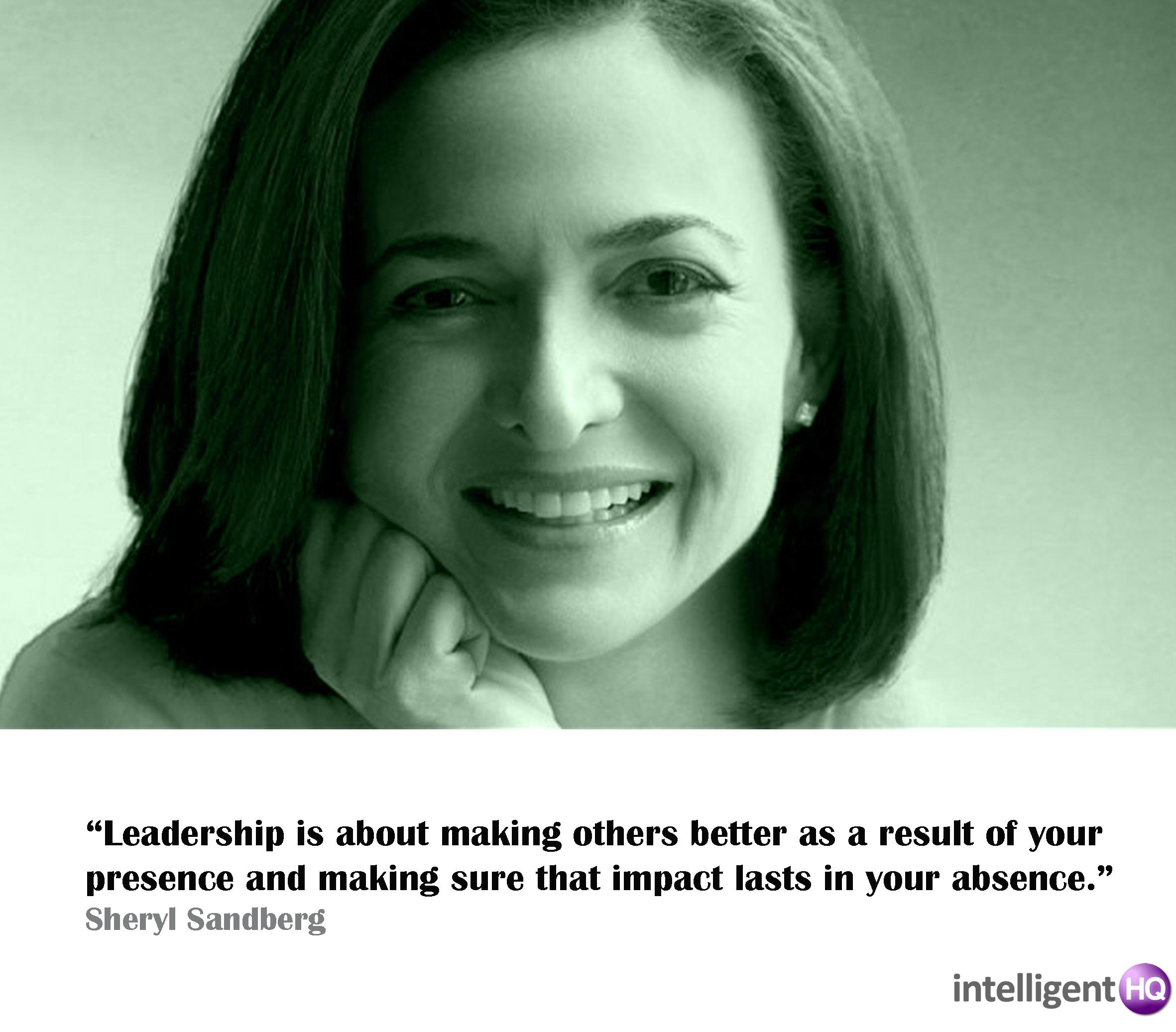 Quote By Sheryl Sandberg. Intelligenthq