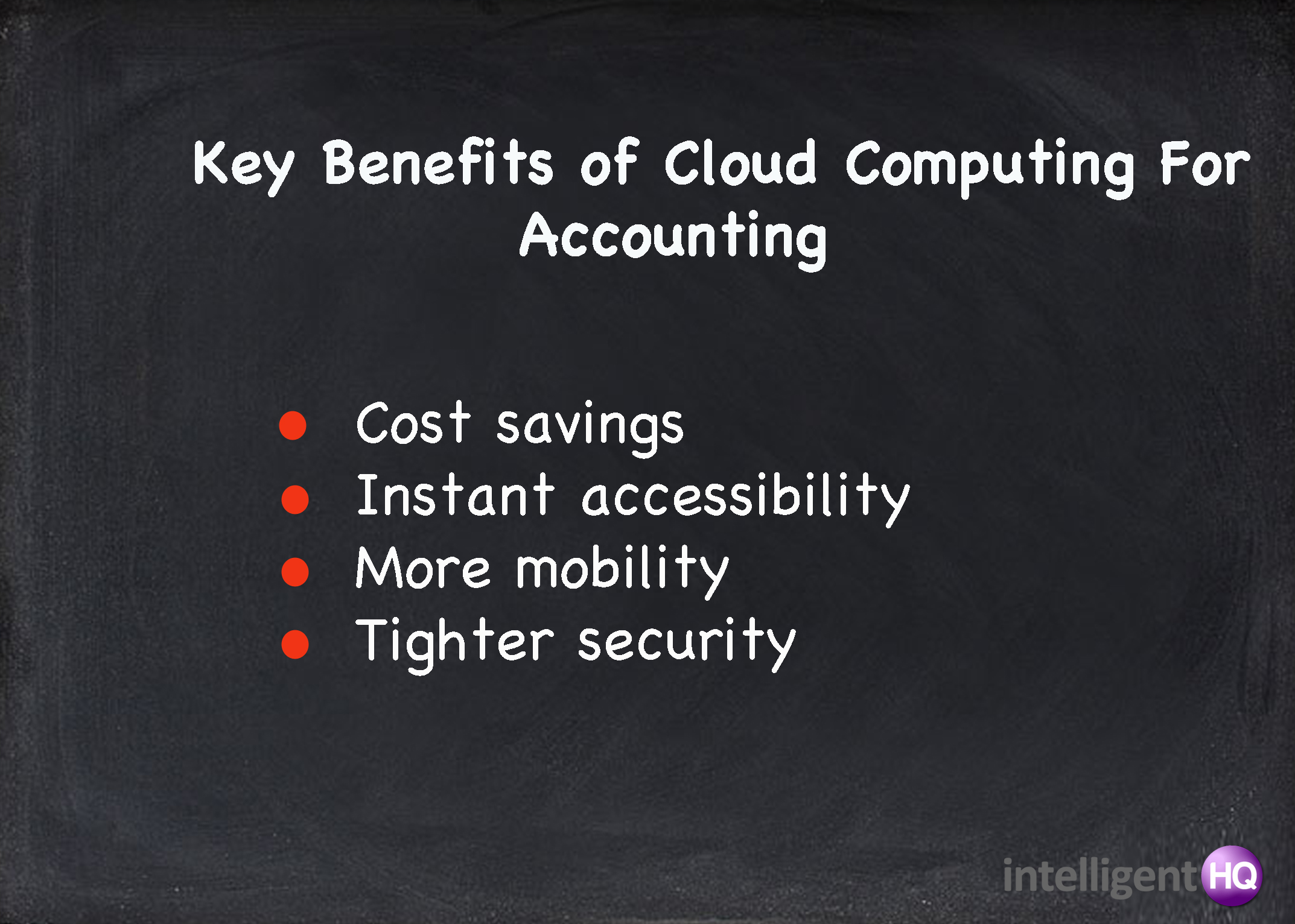 key benefits of clound for accounting Intelligenthq