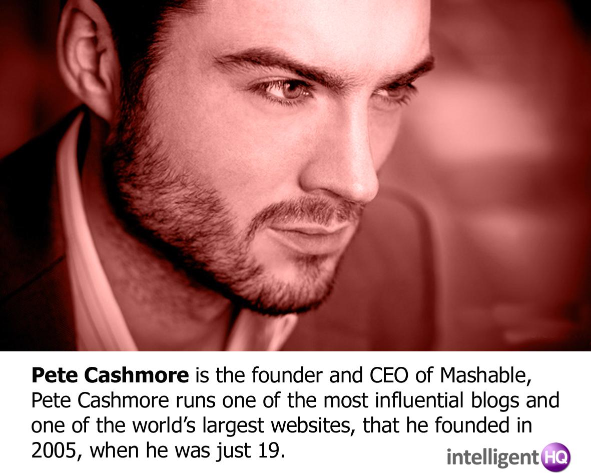 Pete Cashmore Intelligenthq