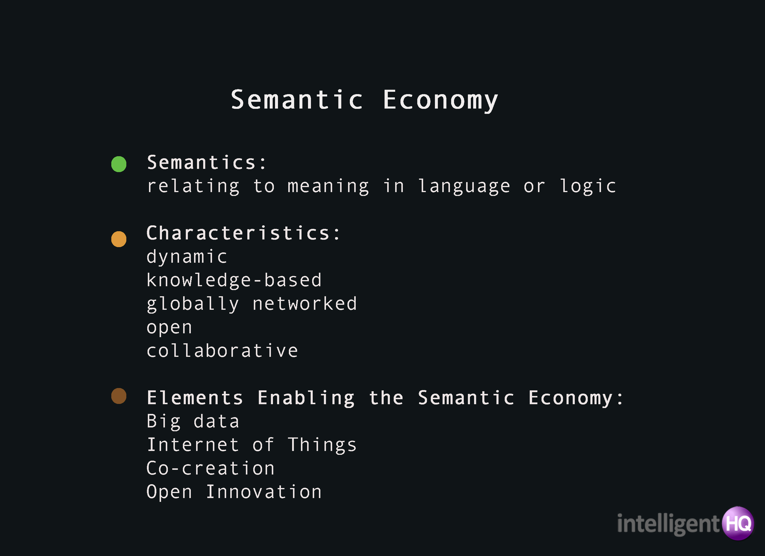 Semantic Economy Intelligenthq