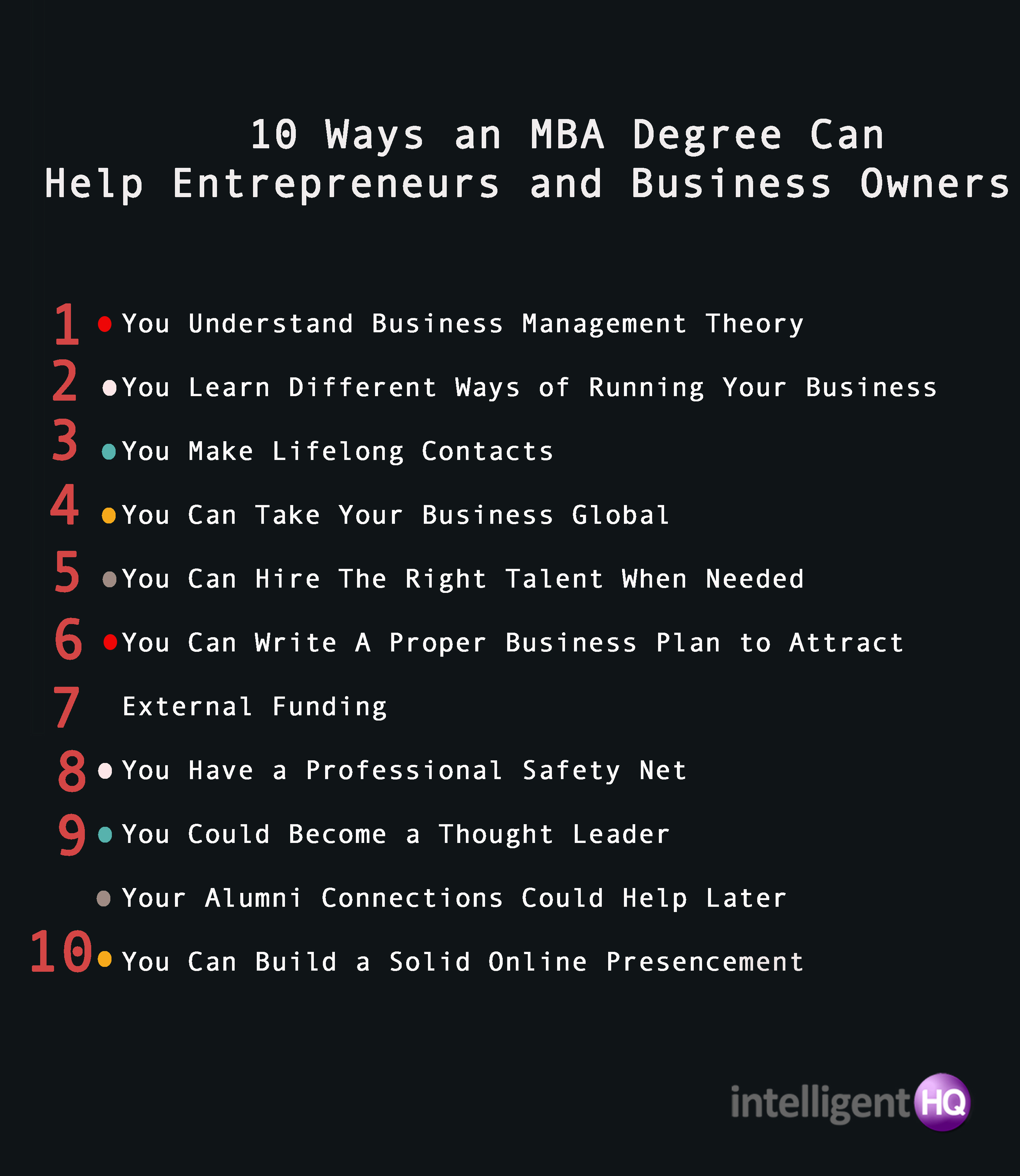 ways an mba degree can help entrepreneurs and business owners 10 ways an mba degree can help entrepreneurs and business owners intelligenthq