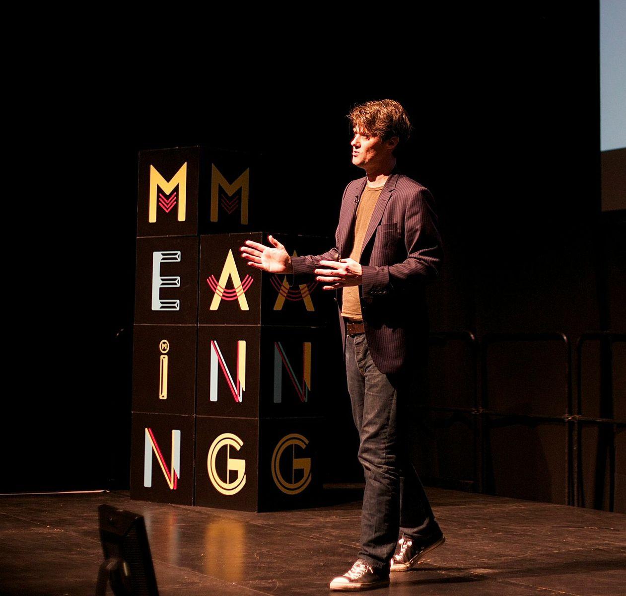 Mark Stevenson Image source: Meaning conference 2014