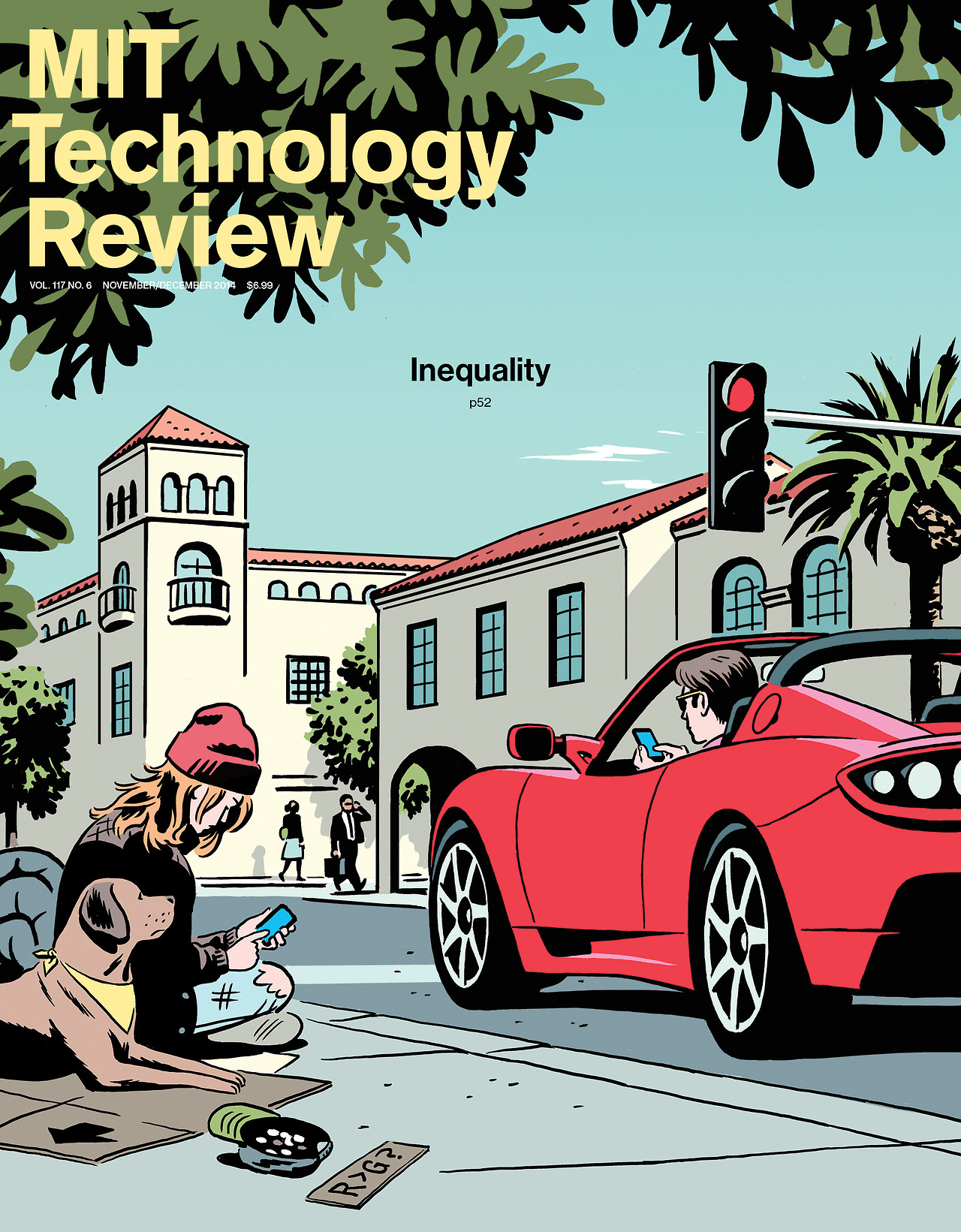 Cover of MIT Review edition of November 2014