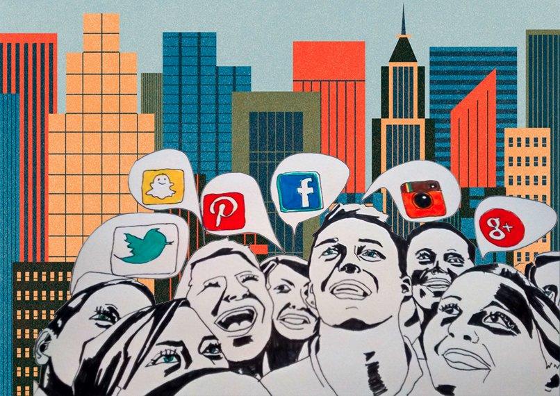 Nine Social Media Trends for 2015 Illustration by Maria Fonseca