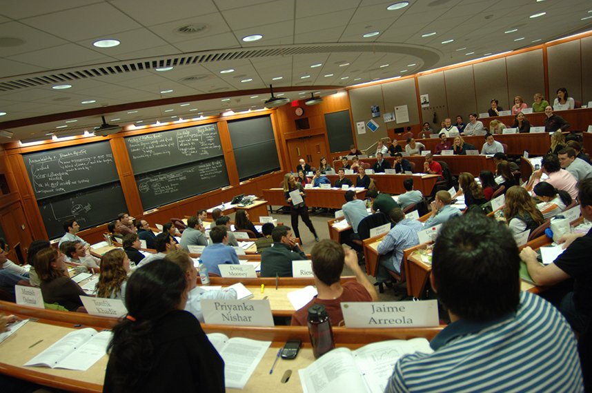 Business School in Harvard
