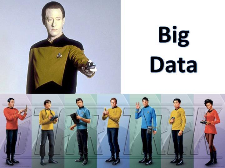 Star Treck Big Data