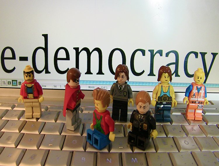 Do our democracies need to be updated? Image source: Intelligenthq