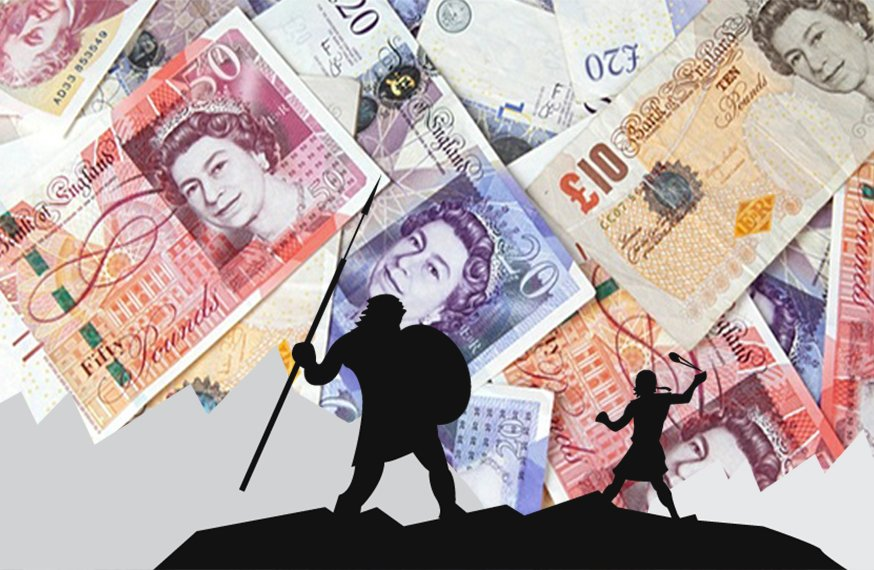 Will the Future Of Finance See More Collaboration between David and Goliath?